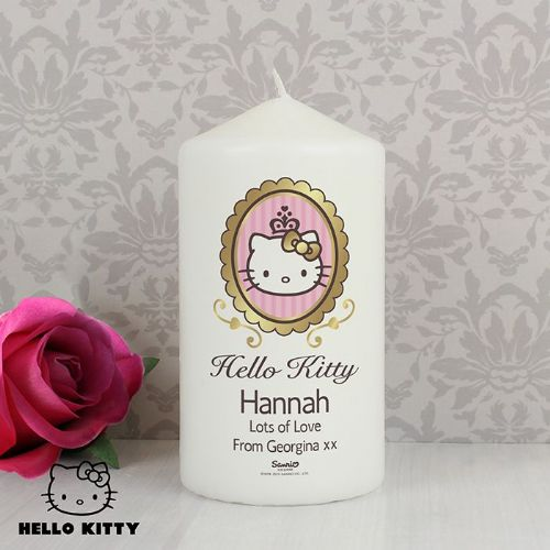 Personalised Hello Kitty Chic Candle